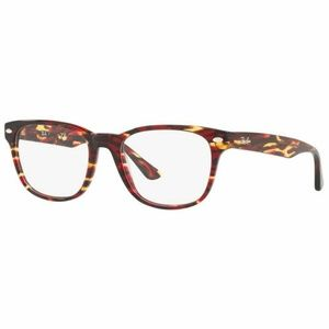 Ray-Ban Square Eyeglasses Tortoise W/Demo Lens